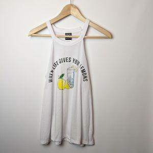 Modern Lux Lemon shirt tank top lemonade